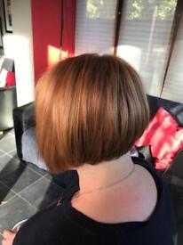 FREE LADIES HAIRCUT GRADUATED BOB