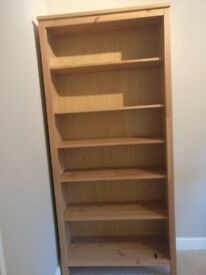 Hemnes Light Brown Bookcase 2 Available must go fast