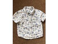 Short sleeved shirt 12-18 months