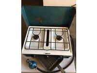 Dudley double stove and grill