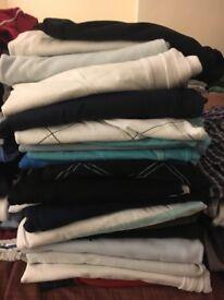 Mens Long sleeve/Polo Tops (Job Lot)