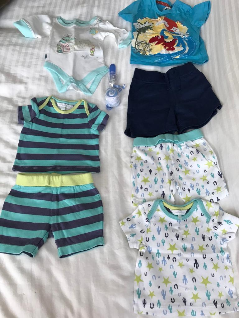 Baby boys clothing bundle 0-3 and 3-6 months