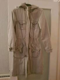 Miss Selfridge Long Coat Size 6