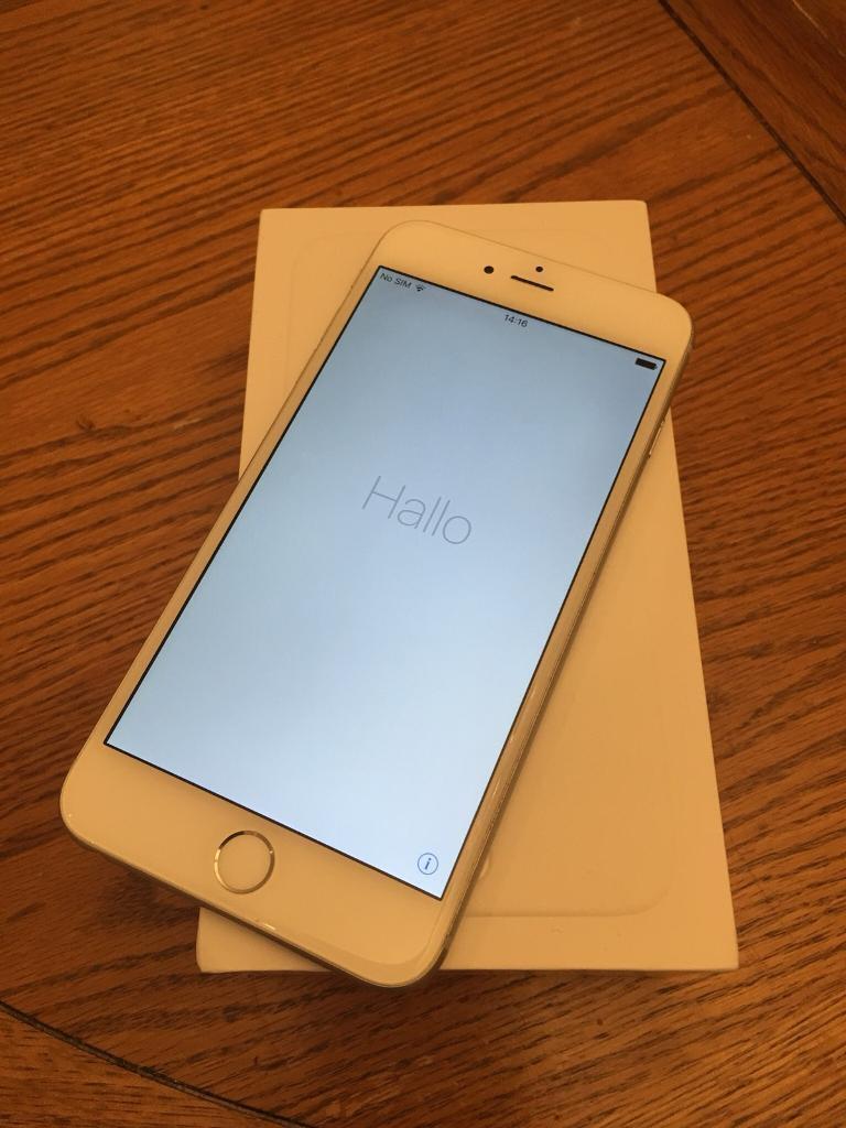 iPhone 6 Plus 128gb locked to O2