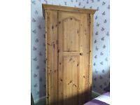 Solid pine wardrobe - £135 each - Excellent condition