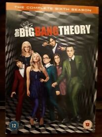 Big bang theory season 6 boxset
