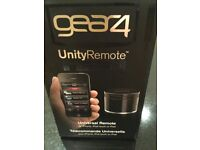 Gear 4 Unity remote, universal remote control for use with iPhone, or iPad