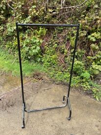 Metal Framed Clothes Rail - Basic, but Sturdy