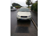 Subaru Lagacy Outback 2.5 boxer,petrol,all wheel drive,great condition,genuine reson for sale,mot