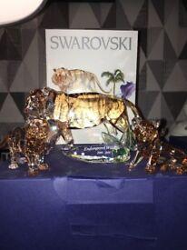Swarovski crystal endangered animals collection