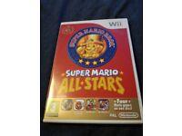 Mario all stars wii