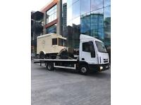 24-7 CAR VAN RECOVERY TOWING TRUCK VEHICLE BREAKDOWN FORKLIFT TRAILER BIKE DELIVERY TRANSPORT SCRAP