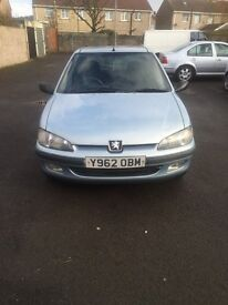 Peugeot 106 1.1 Independence 65000 miles MOT ill August 2017