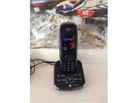 Aura 1500 Single Digital Cordless Phone with Answer Machine