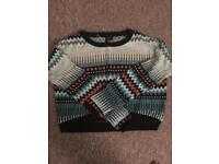 To be worn again Retro cropped jumper