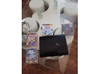 Play station 3 with four games