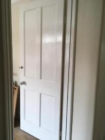 Reclaimed 1930s 4 panel doors