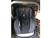 Siver cross baby carseat