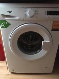 Bush washing machine A rated 1200 spin good condition very little use