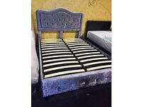 NEW DOUBLE BED £199-WITH MATTRESS £320