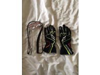 Used AlpineStars Tech 1-K Race Gloves - good condition, L