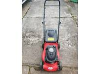 Petrol engine lawnmower