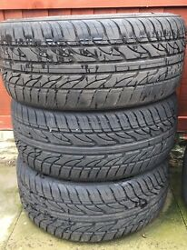 """18"""" Low profile tyres - 215/35/18"""