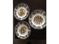 Royal Worcester Pallisy Game Series - Dinner Service