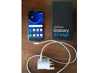 Samsung Galaxy S7 Edge with box and charger Perfect Working Order