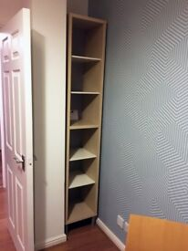 IKEA - tall & slim Bookshelf / storage unit