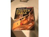 Router table guide book