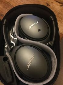 Bose QuietComfort QC25 Noise Cancelling Headphones for Apple Black - NEW