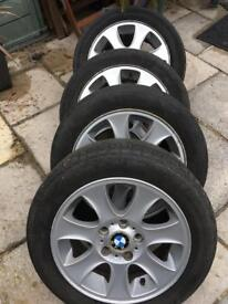 BMW wheels and Tyers