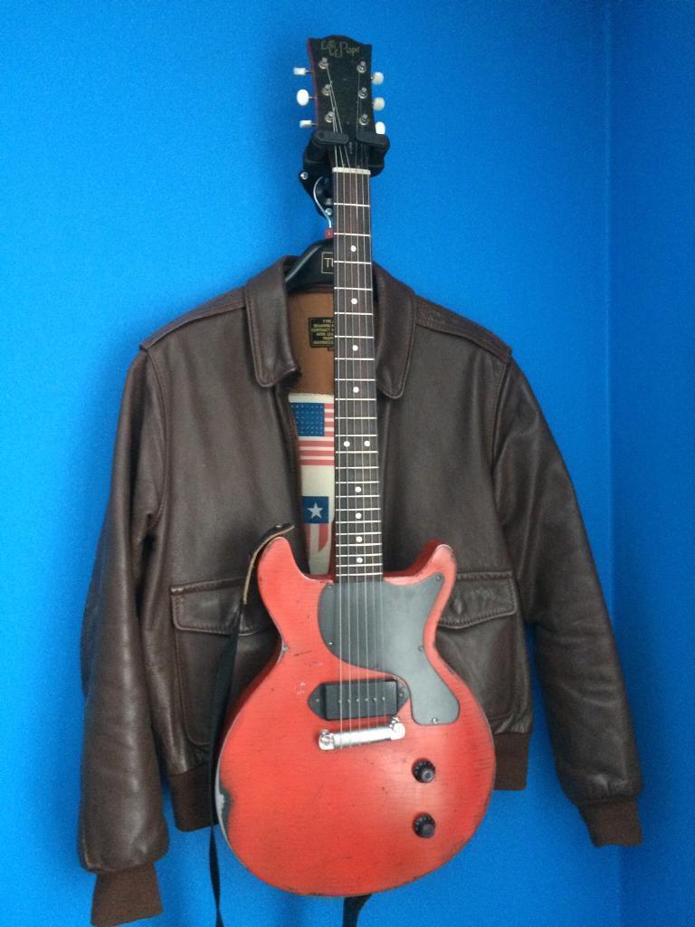 Loic Le Pape Gibson 59 Les Paul Junior Double Cut Dc In Lanark