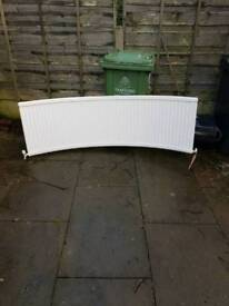 Curved radiator from bay window excellent condition
