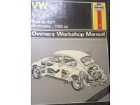 Haynes vw manual