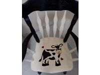 Hand painted chair for sale