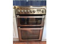 Cooker Hotpoint HUE62X S.0