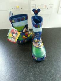 Infant size 5 wellies