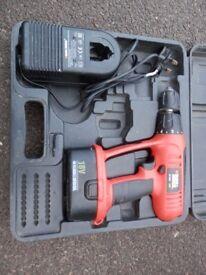 B&D 18V cordless Drill/driver/hammer drill