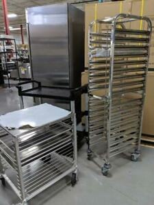 Steam Pan Racks / Baking Racks and Utility Carts And Trolleys -- GREAT DEALS!!!