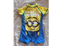 Minion swim suit