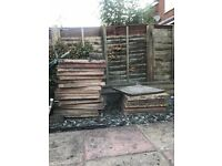 Unwanted Paving / Garden / Patio Slabs - Used