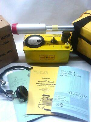 Rebuilt-calibrated Radiation Detector Eni 6bm Cdv-700 Geiger Counter-life War