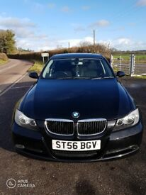 BMW 318i 56plate, manual saloon petrol black