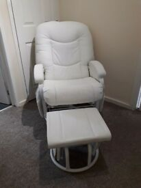 White Feeding Chair