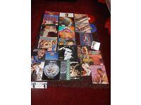 JOB LOT VINYL LP'S. BEATLES, ELO, DVD, MAGS ETC..