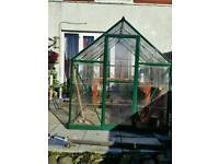 Greenhouse 6x8ft polycarbonate