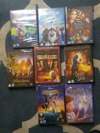 8 Disney films