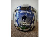 Nitro Scottish Brave heart crash helmet size small adult used but still in good condition